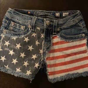 Miss Me Bottoms - Girls Miss Me Shorts